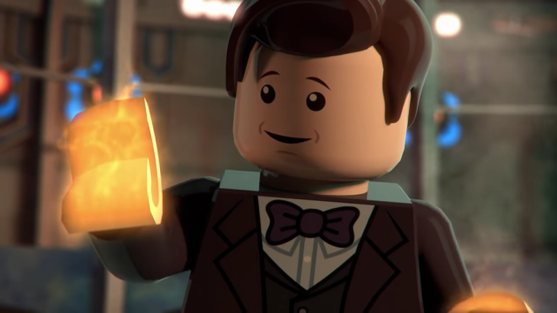 Illustration for article titled The Eleventh Doctor's regeneration is still heartbreaking, even in Lego