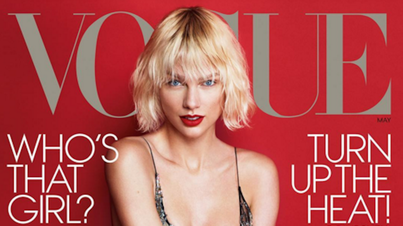 Illustration for article titled Taylor Swift's Latest Vogue Interview Was Conducted at Her Best Friend's Wedding
