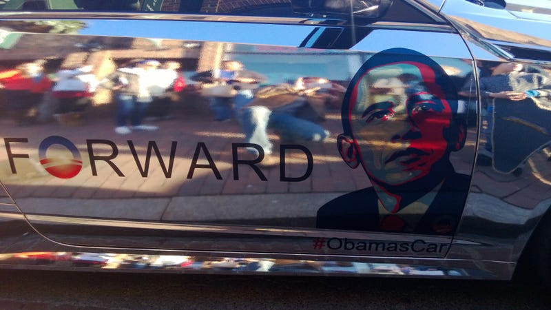 Illustration for article titled Check Out This Chromed Out Obamillac
