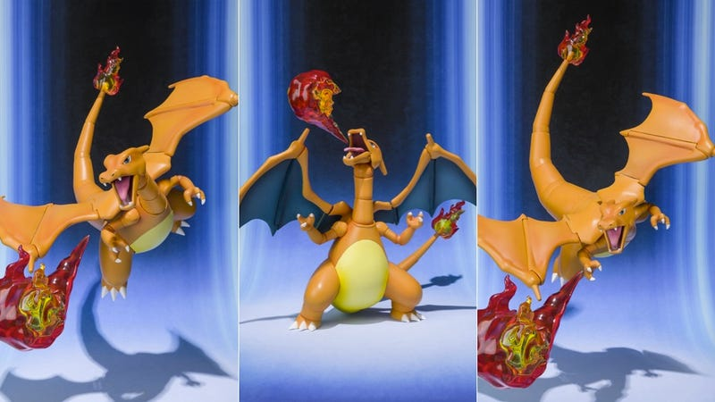 Illustration for article titled To Train This Charizard Action Figure, You Don't Need Badges. You Need Money.