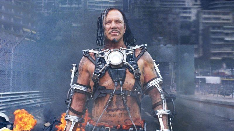 Mickey Rourke as Ivan Vanko in Iron Man 2
