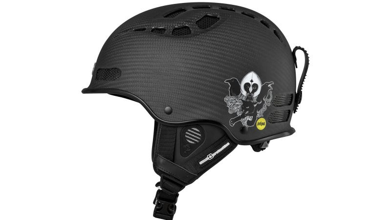Illustration for article titled This Helmet Protects You From Your GoPro