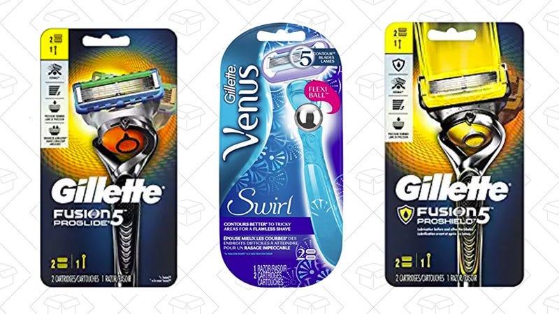 $2 off Gillette and Venus Razors | Amazon