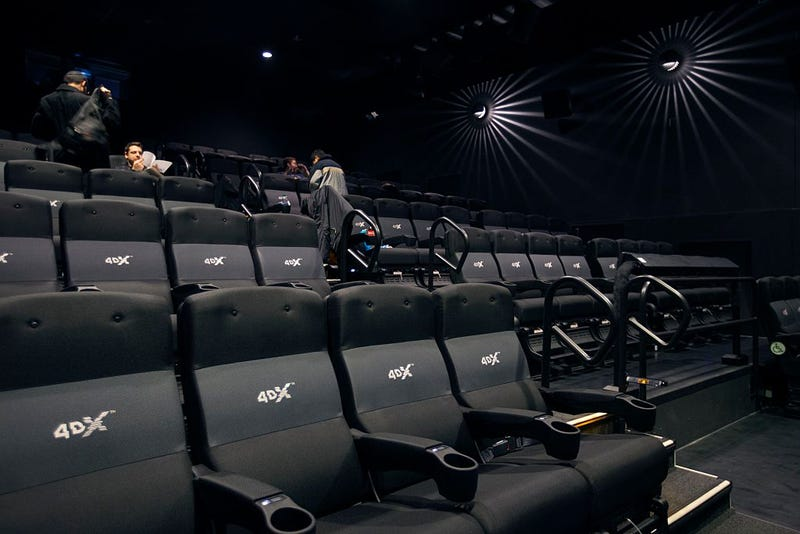 This is actually some sweet 4DX gear in a Toronto theater (Photo: Chris So/Toronto Star via Getty Images)