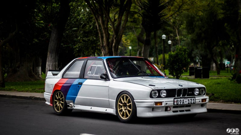 Illustration for article titled Dig this Peruvian E30 M3 Grp A Replicaaaaaaa. Want.