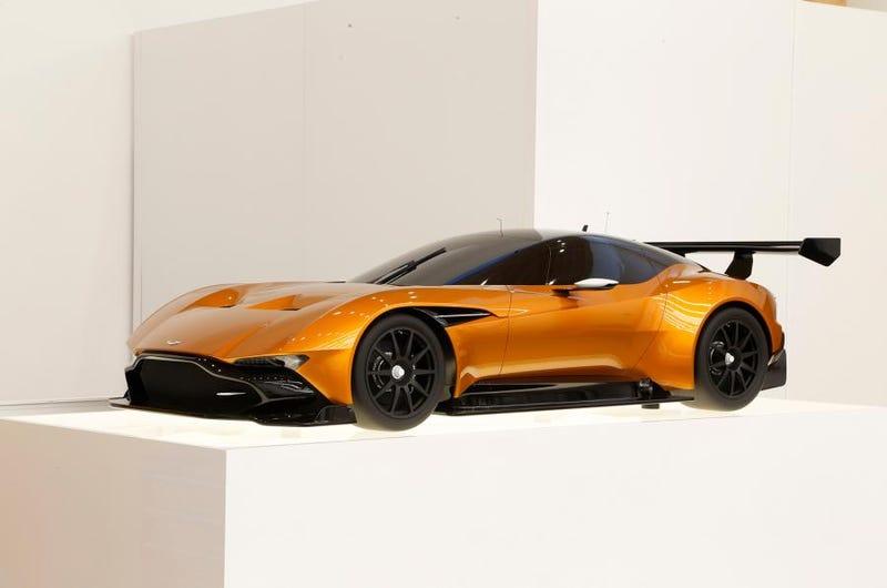 Illustration for article titled Aston Martin Vulcan in Burnt Orange