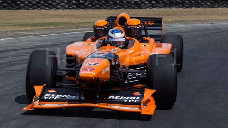 All image credits: Heritage F1