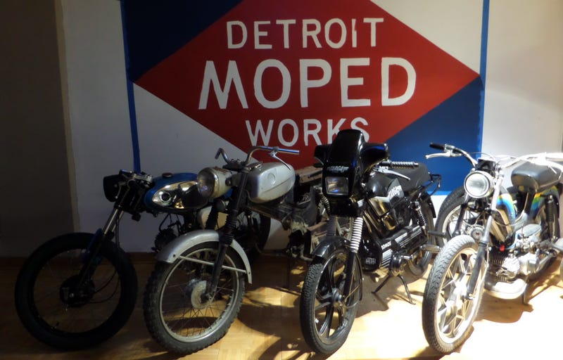 Illustration for article titled How Classic Mopeds Are Taking Over The Streets Of Detroit