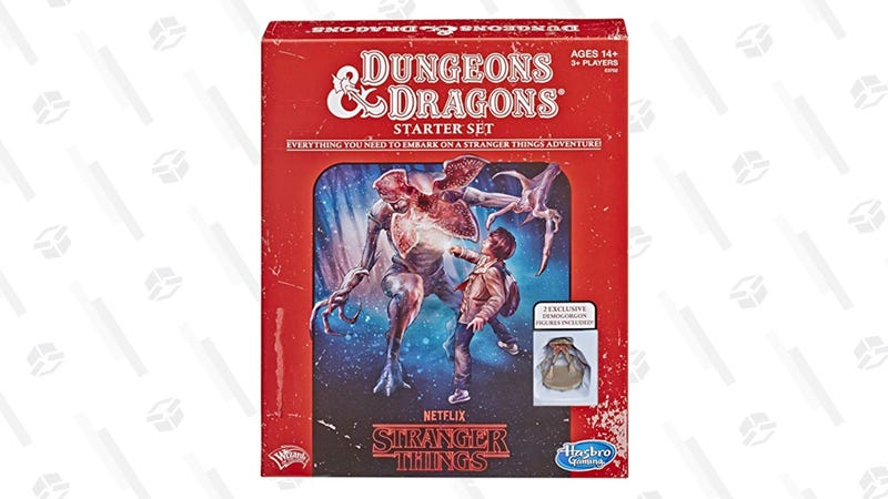 Stranger Things Dungeons & Dragons Roleplaying Starter Set | $15 | Amazon