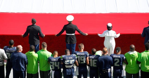 The Seahawks Would Like To See White NFL Players Join The Natio…