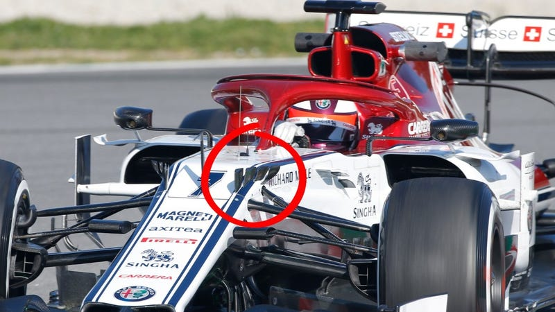 Illustration for article titled What Are Those Weird Horns on New F1 Cars?