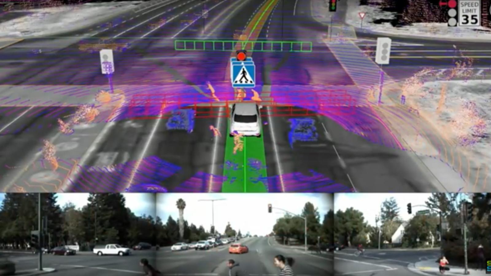 Un problema inesperado para el coche de Google: hace que los peatones actúen como idiotas