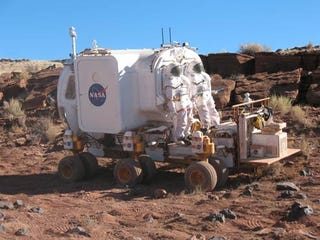 Illustration for article titled NASA Reveals New Rover For Manned Extraterrestrial Missions