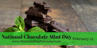 Illustration for article titled NATIONAL CHOCOLATE MINT DAY
