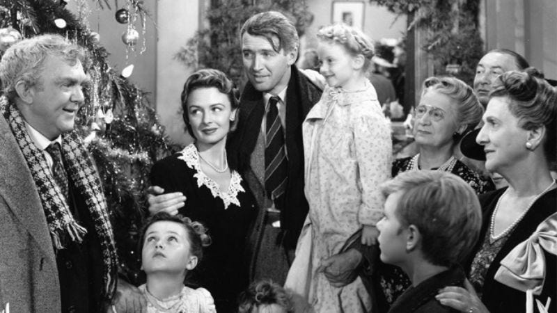 Illustration for article titled It's a wonderful time to watch It's A Wonderful Life