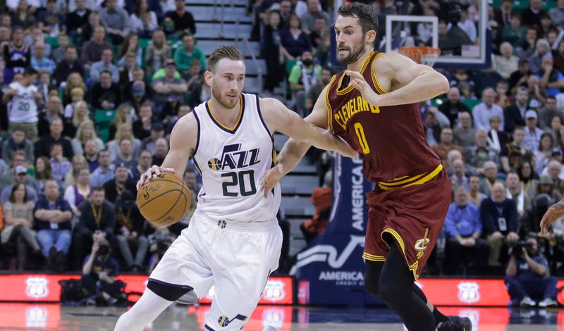 LeBron topscores but Cavs sunk by Jazz