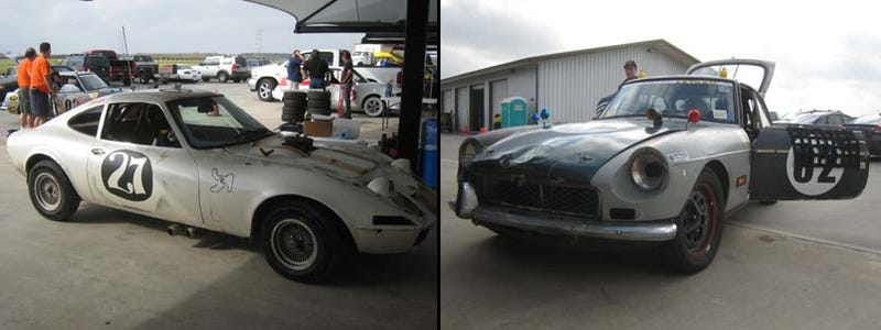 Illustration for article titled Guess The 24 Hours Of LeMons Lap Totals, Win Fabulous Prizes: Opel GT or MGB-GT?