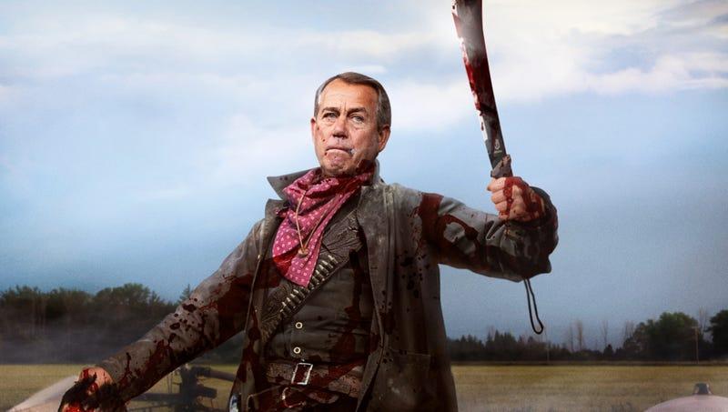 John Boehner Beheads Juarez Cartel Member Who Dared Muscle In On His Legal Weed Turf