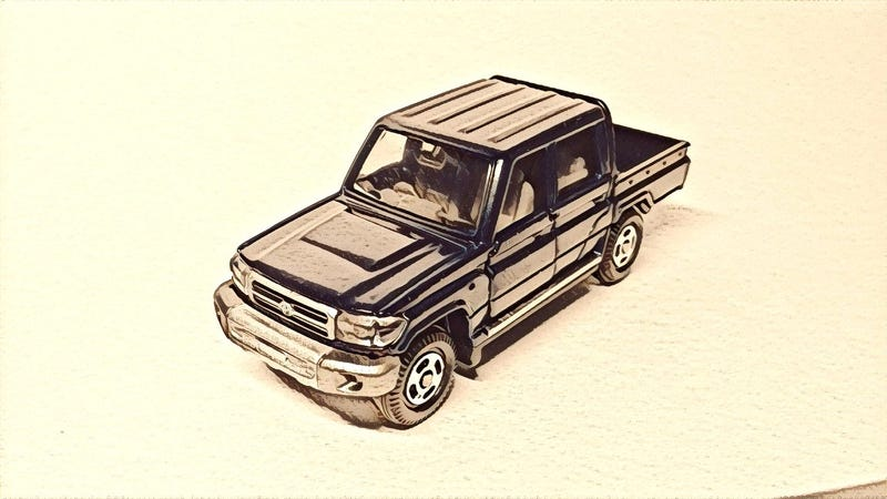Illustration for article titled Tomica Land Cruiser