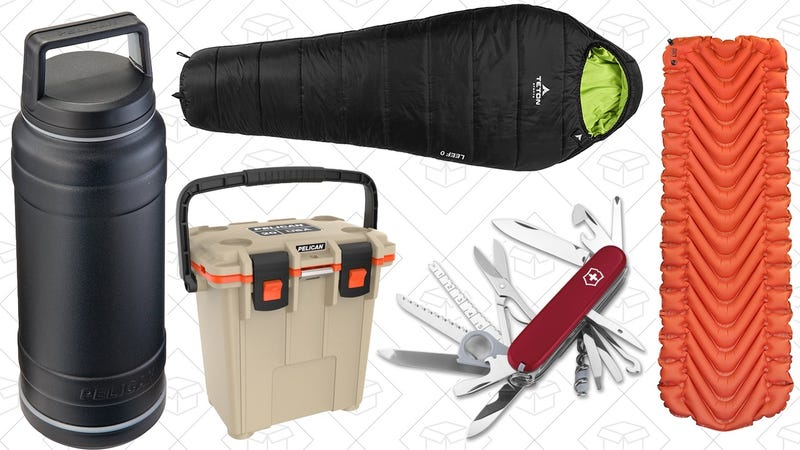 Camping and Outdoors Gold Box