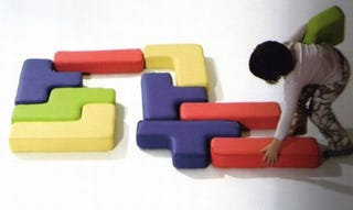 Illustration for article titled Kid-Sized Tetris Blocks