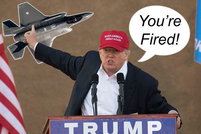 Trump wants to fire F-35
