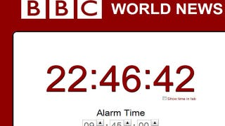 Illustration for article titled The BBC News Alarm Wakes You with the Headlines