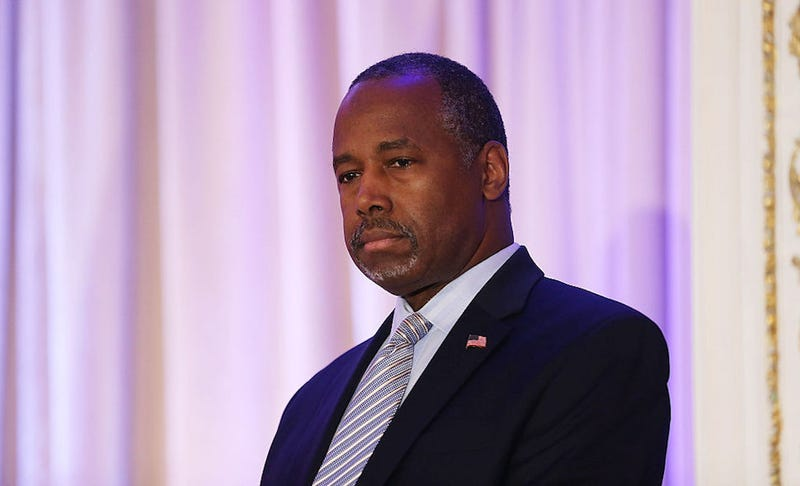 Illustration for article titled Ben Carson Is Back With More Delightfully Halfhearted Trump Defenses