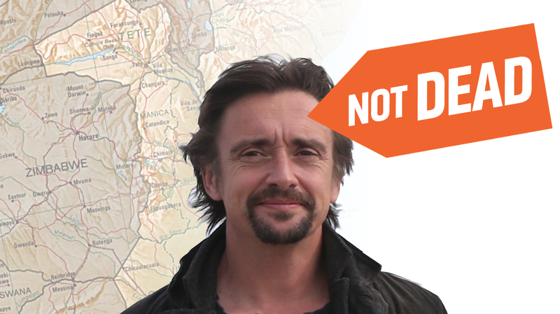 Illustration for article titled Richard Hammond 'Not Dead' After Serious Motorcycle Crash During Grand Tour Filming