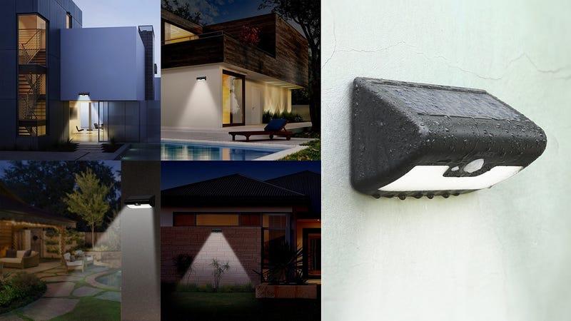 Aukey 38-LED Solar Motion Light | $17 | Amazon | Promo code AUKEYWL24-Pack Aukey 10-LED Solar Motion Light | $35 | Amazon | Promo code AUKEYWL3