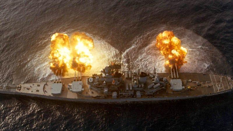Spectacular photos of the US Navy's most powerful battleship