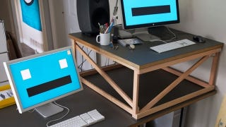 The Optional Standing Desk