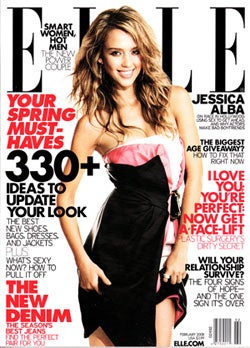 Illustration for article titled Jessica Alba To Elle: What? Sex Sells?