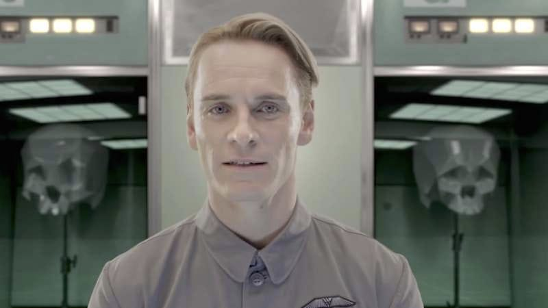 Screenshot: The End Of Alien: Covenant Explained