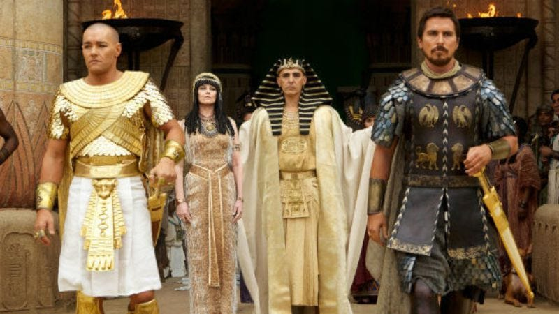 Illustration for article titled Rupert Murdoch defends Exodus casting, says all his Egyptian friends are white