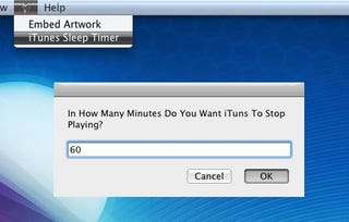 Illustration for article titled iTunes Sleep Timer Stops Playback After a User-Defined Time