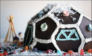 Illustration for article titled How to Build a Geodesic Gingerbread Dome