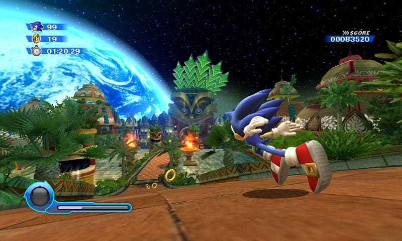 Sonic Colors Sends A Hedgehog Into Marios Space