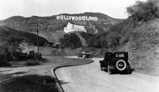 """Illustration for article titled The Hollywood Sign Originally Read """"HOLLYWOODLAND"""""""