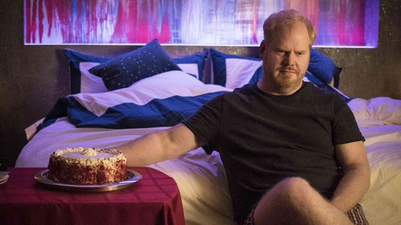 Illustration for article titled Jim Gaffigan may be talking out of his ass, but his show's not what you think