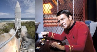Illustration for article titled James Doohan's Son Speaks Up Poignantly About Failed SpaceX Rocket Flight