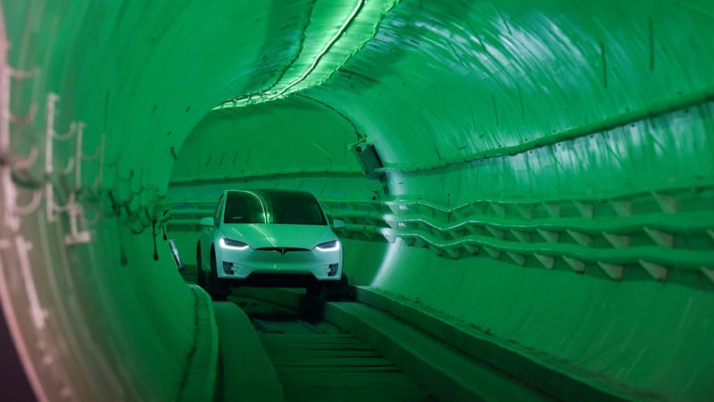 Illustration for article titled Elon Musk's D.C. to Baltimore Tunnel Sounds Worse than Pointless