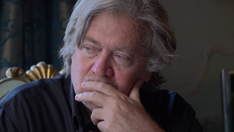 Steve Bannon in THE BRINK, a Magnolia Pictures film.