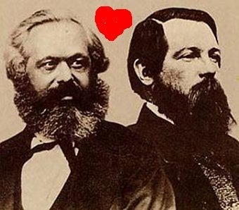 Illustration for article titled Marx And Engels Slashfic: It Exists, Oh Yes