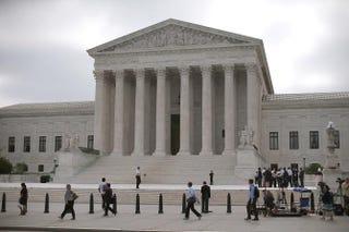 U.S. Supreme Court Building, Washington, D.C., June 18, 2015Mark Wilson/Getty Images