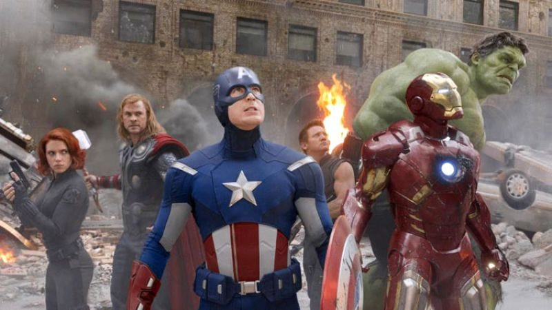 Apparently all the money went to 360 degree panning shots: The Avengers