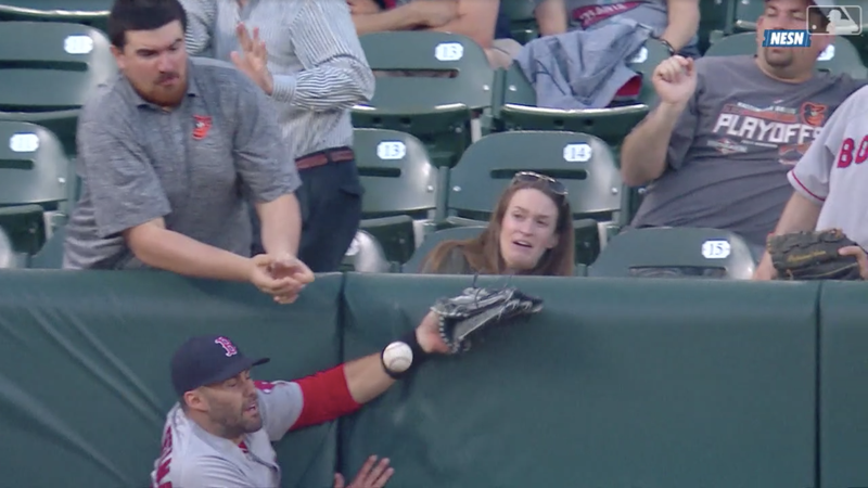 Orioles Fan Experiences Embarrassment, Elation, Denial, And Resignation After Interfering With Live Ball
