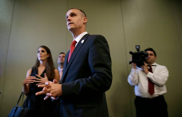 Corey Lewandowski Was An Asshole In His Hometown, Too