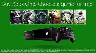 Illustration for article titled Xbox One With A Free Game, Harry Potter and the iTunes Bundle [Deals]