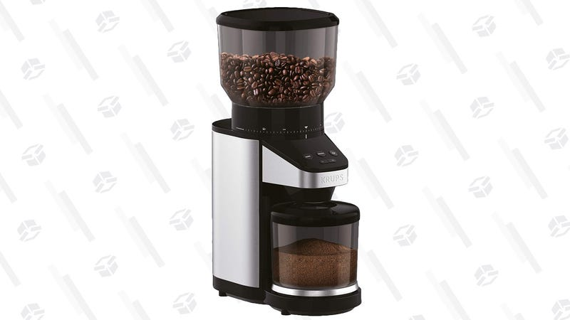 Krups Burr Grinder with Scale | $95 | Amazon | Clip the $10 coupon